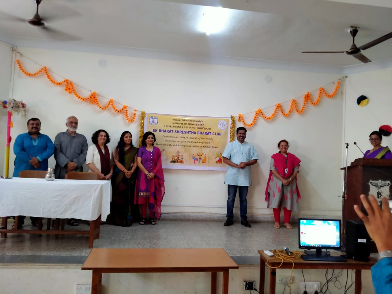 Ek Bharat Shreshta Bharat Club Launch